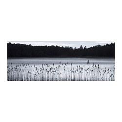BJÖRKSTA - BJÖRKSTA, gambar, Woodland lake, 140x56 cm