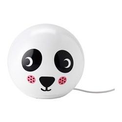 ÄNGARNA - Lampu meja LED, motif panda