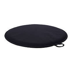 CILLA - Chair pad, black