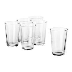 IKEA 365+ - IKEA 365+, gelas, kaca bening, 30 cl