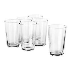 IKEA 365+ - Gelas, kaca bening, 45 cl