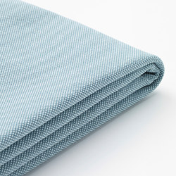 HOLMSUND - Cover for corner sofa-bed, Orrsta light blue