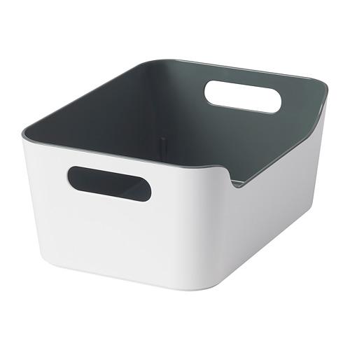 VARIERA - kotak, hijau/abu-abu, 24x17 cm   IKEA Indonesia - PE790427_S4
