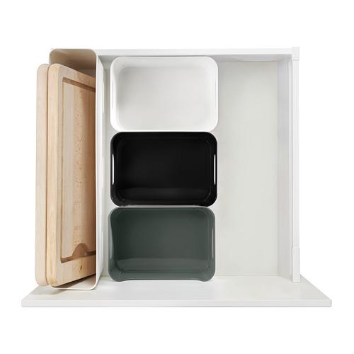VARIERA - kotak, hijau/abu-abu, 24x17 cm   IKEA Indonesia - PE790428_S4