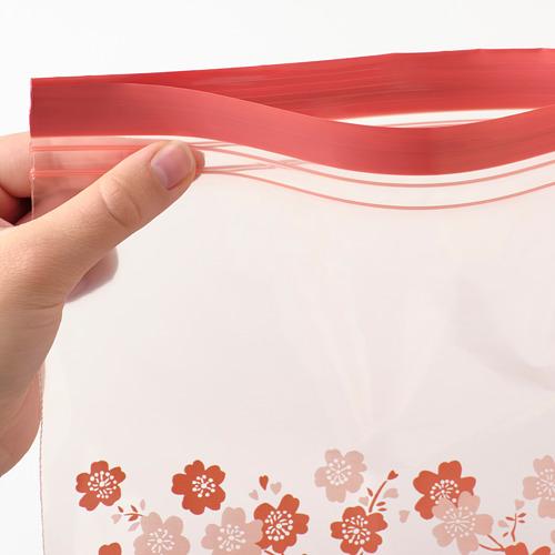 ISTAD - kantong yang dapat ditutup, berpola, 2.5 l   IKEA Indonesia - PE790560_S4