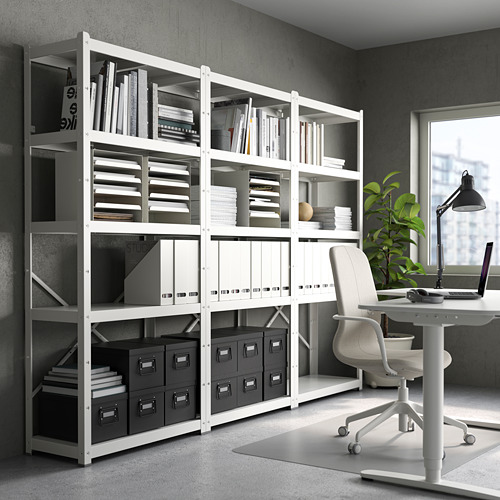 KVISSLE - file majalah, set isi 2, putih | IKEA Indonesia - PE737433_S4