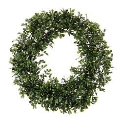 SMYCKA - SMYCKA, lingkaran bunga tiruan, dalam/luar ruang kotak, 45 cm