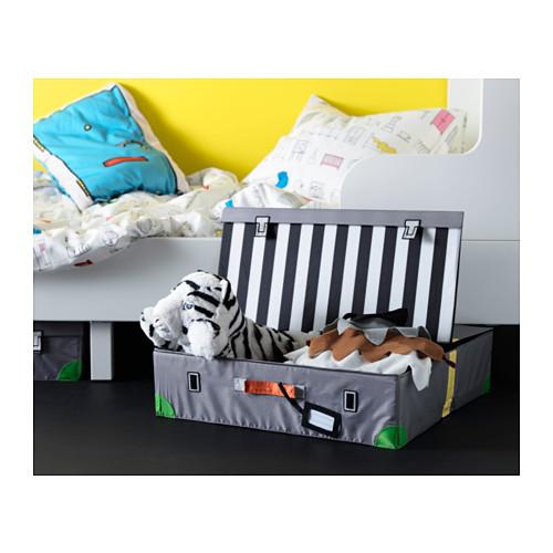 FLYTTBAR kotak penyimpanan tempat tidur