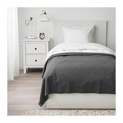 TJÄRBLOMSTER - Penutup tempat tidur , abu-abu