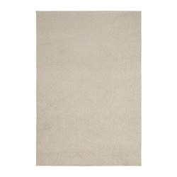 SPORUP - SPORUP, karpet, bulu tipis, krem muda, 133x195 cm