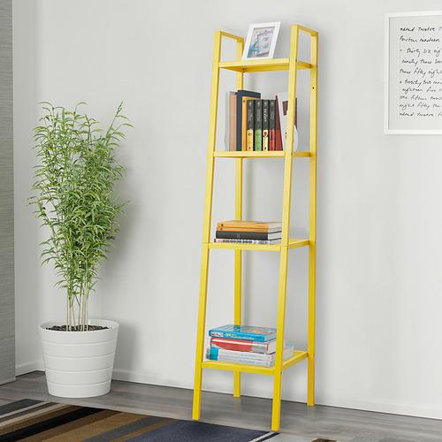 LERBERG - shelf unit, yellow, 35x148 cm | IKEA Indonesia - PE836245_S4