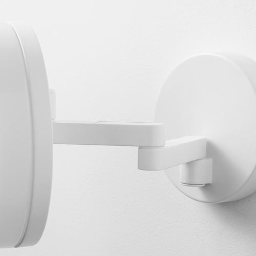 SVALLIS Lampu dinding LED dg lengan berayun