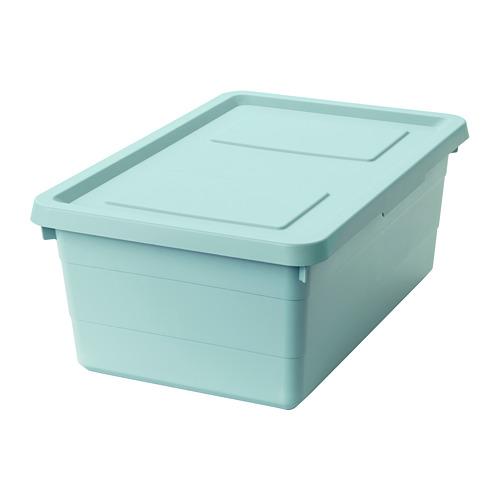 SOCKERBIT kotak penyimpanan dengan penutup