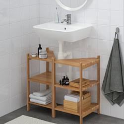 TYNGEN/RÅGRUND - Wash-basin base cabinet w 2 doors
