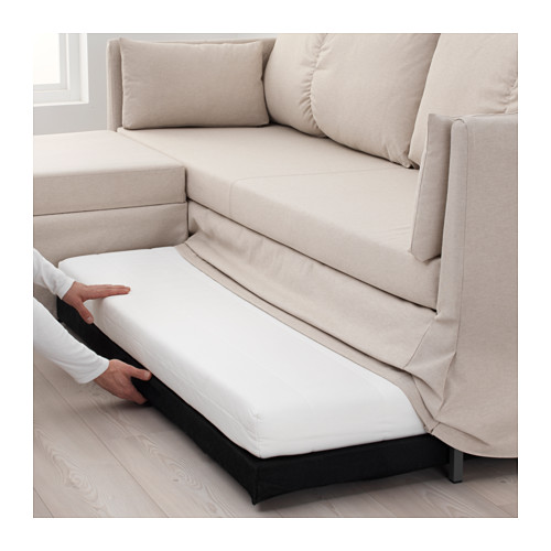 SANDBACKEN corner sofa-bed