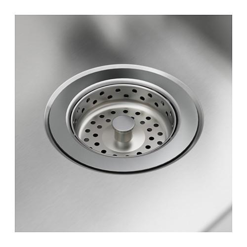 LÅNGUDDEN inset sink, 1 bowl