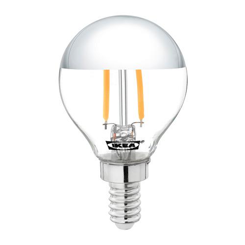 SILLBO bohlam LED E14 140 lumen