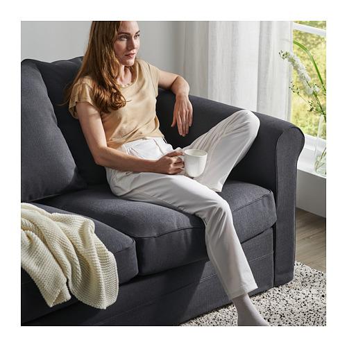 GRÖNLID - sofa bentuk u, 6 dudukan, dengan ujung terbuka/Sporda abu-abu tua   IKEA Indonesia - PH166233_S4