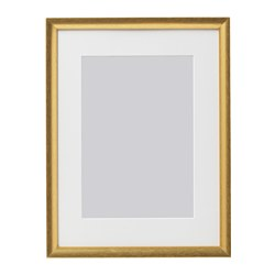 SILVERHÖJDEN - Frame, gold-colour