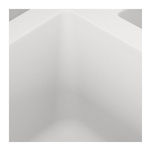 HÄLLVIKEN inset sink, 1 ½ bowl w drainboard