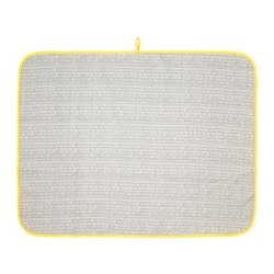 KLÄMMIG - Babycare mat, grey/yellow