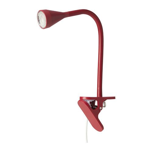NÄVLINGE lampu sorot jepit LED