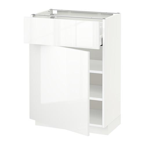MAXIMERA/METOD kabinet dasar dengan laci/pintu