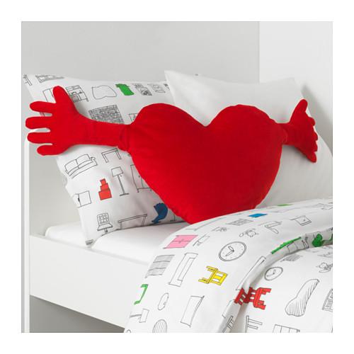 FAMNIG HJÄRTA cushion