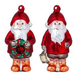 VINTER 2020 - Hanging decoration, set of 2, Santa Claus