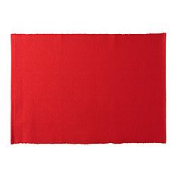 UTBYTT - Place mat, red