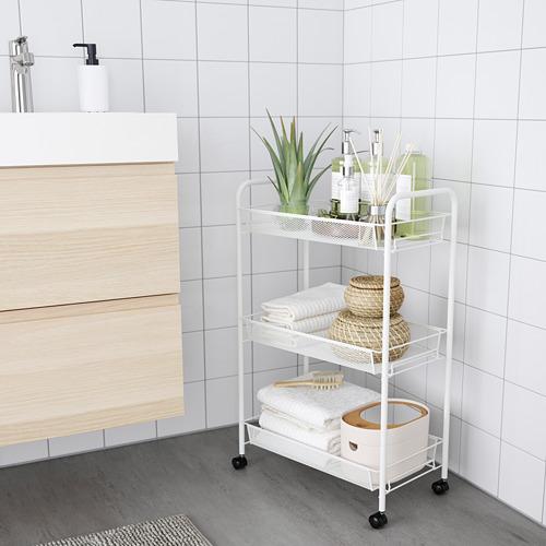 HORNAVAN - trolley, white, 26x48x77 cm | IKEA Indonesia - PE777552_S4