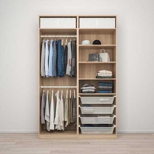 PAX/MEHAMN/SEKKEN kombinasi lemari pakaian