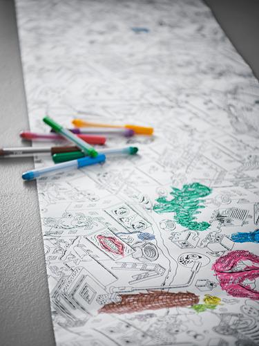 MÅLA - felt-tip pen, mixed colours | IKEA Indonesia - PH169469_S4