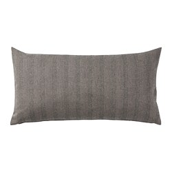 SAGALOVISA - Cushion, black/natural