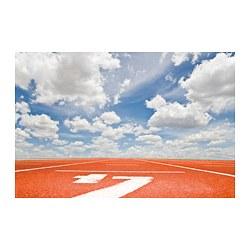 PJÄTTERYD - PJÄTTERYD, gambar, Running track, 118x78 cm