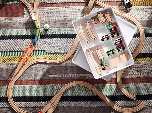 LILLABO - 45-piece train set with rail | IKEA Indonesia - PH148859_S4