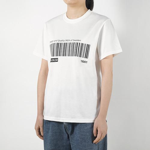 EFTERTRÄDA - t-shirt, putih, L/XL | IKEA Indonesia - PE791673_S4