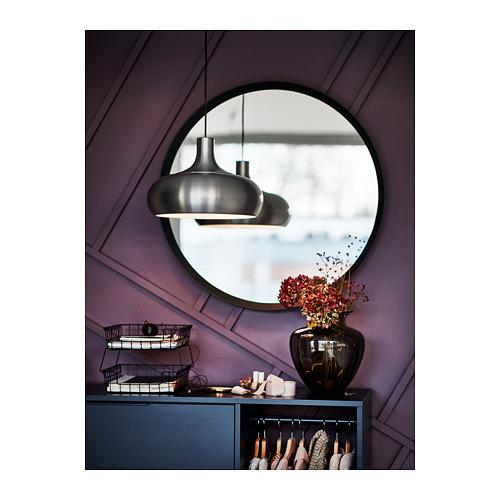 VÄXJÖ - lampu gantung, warna aluminium, 38 cm   IKEA Indonesia - PH168399_S4