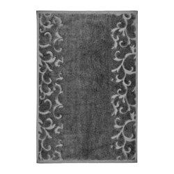 FURUVIKEN - Bath mat, dark grey