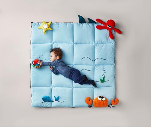 KLAPPA - play mat, 114x114 cm | IKEA Indonesia - PH160629_S4