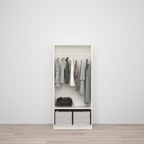KLEPPSTAD lemari pakaian 2 pintu