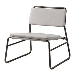 LINNEBÄCK - LINNEBÄCK, easy chair, Orrsta light grey