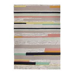 BRÖNDEN - Karpet, bulu tipis, buatan tangan aneka warna