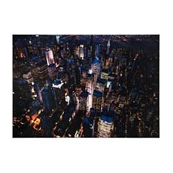 BJÖRKSTA - Gambar, lampu kota, New York