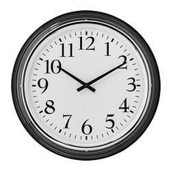 BRAVUR - Wall clock, black