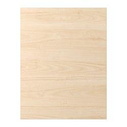 ASKERSUND - Panel penutup, efek kayu ash terang