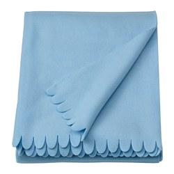 POLARVIDE - Selimut kecil, biru muda, 130x170 cm