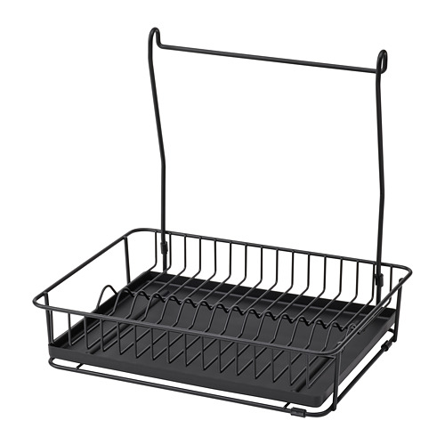 HULTARP - pengering piring, hitam   IKEA Indonesia - PE792223_S4