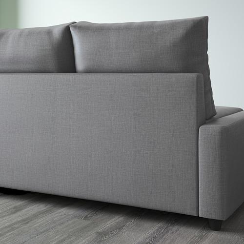 FRIHETEN sofa tempat tidur sudut dgn pnympn