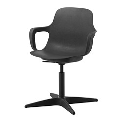 ODGER - Swivel chair, anthracite